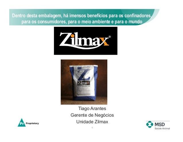 Dentro desta embalagem, há imensos benefícios para os confinadores,    para os consumidores, para o meio ambiente e para o...