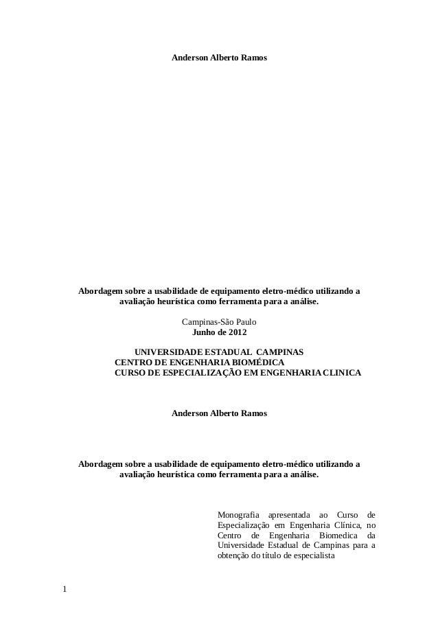 Anderson Alberto Ramos Abordagem sobre a usabilidade de equipamento eletro-médico utilizando a avaliação heurística como f...
