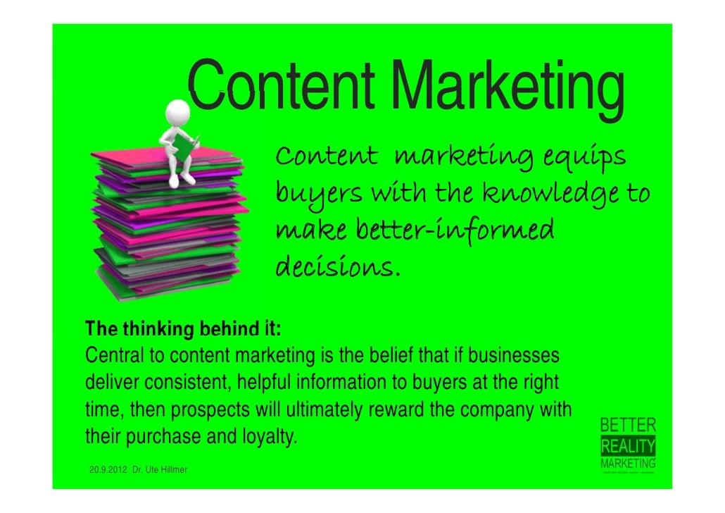 Content Marketing + Market Segmentation Slide 2