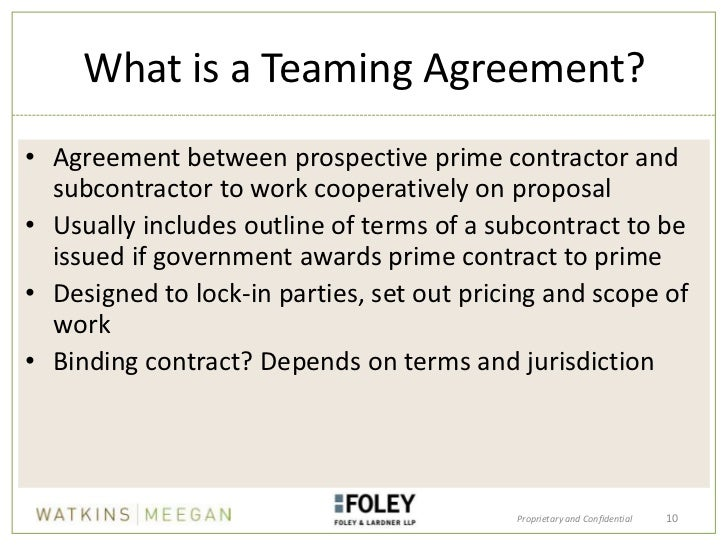 Joint ventures and teaming agreements in federal contracting 10 platinumwayz