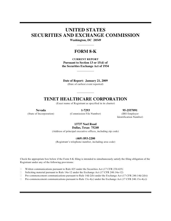 UNITED STATES           SECURITIES AND EXCHANGE COMMISSION                                               Washington, DC 20...