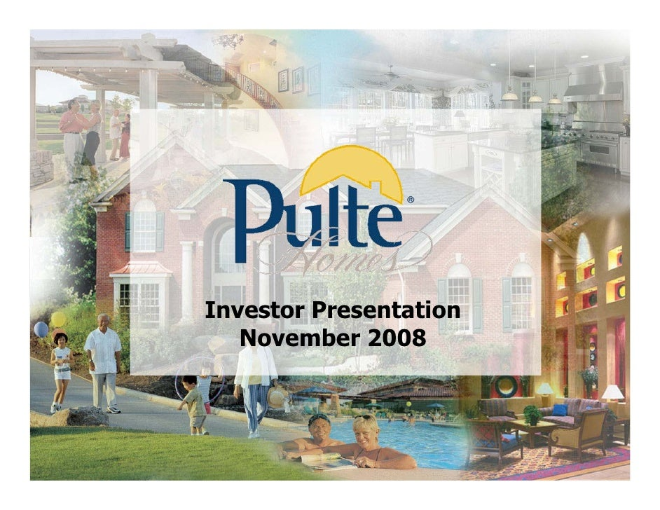 Investor Presentation        November 2008     1