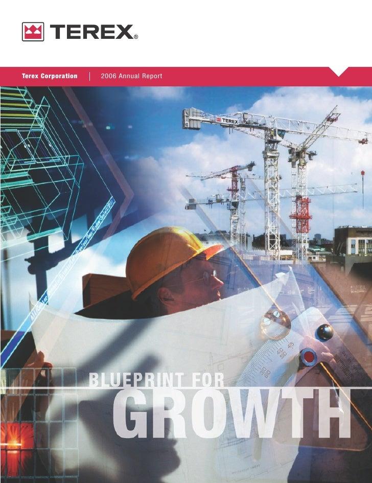 Terex Corporation   2006 Annual Report