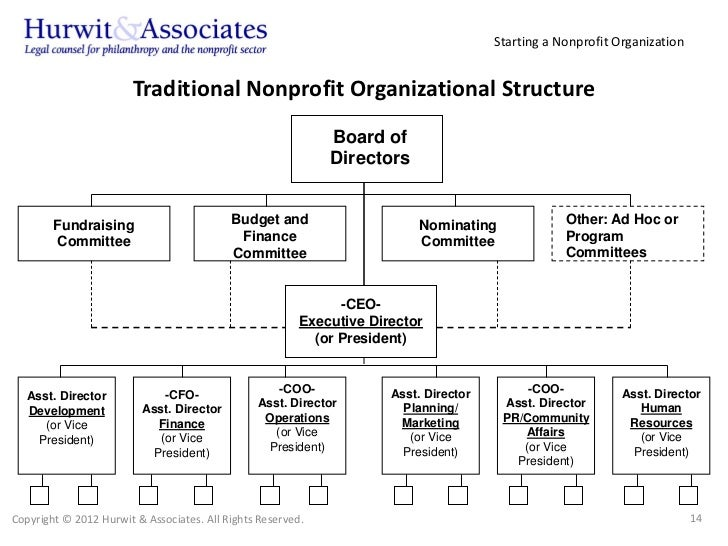 Best Non Profit Organizational Chart Images - Best Resume Examples