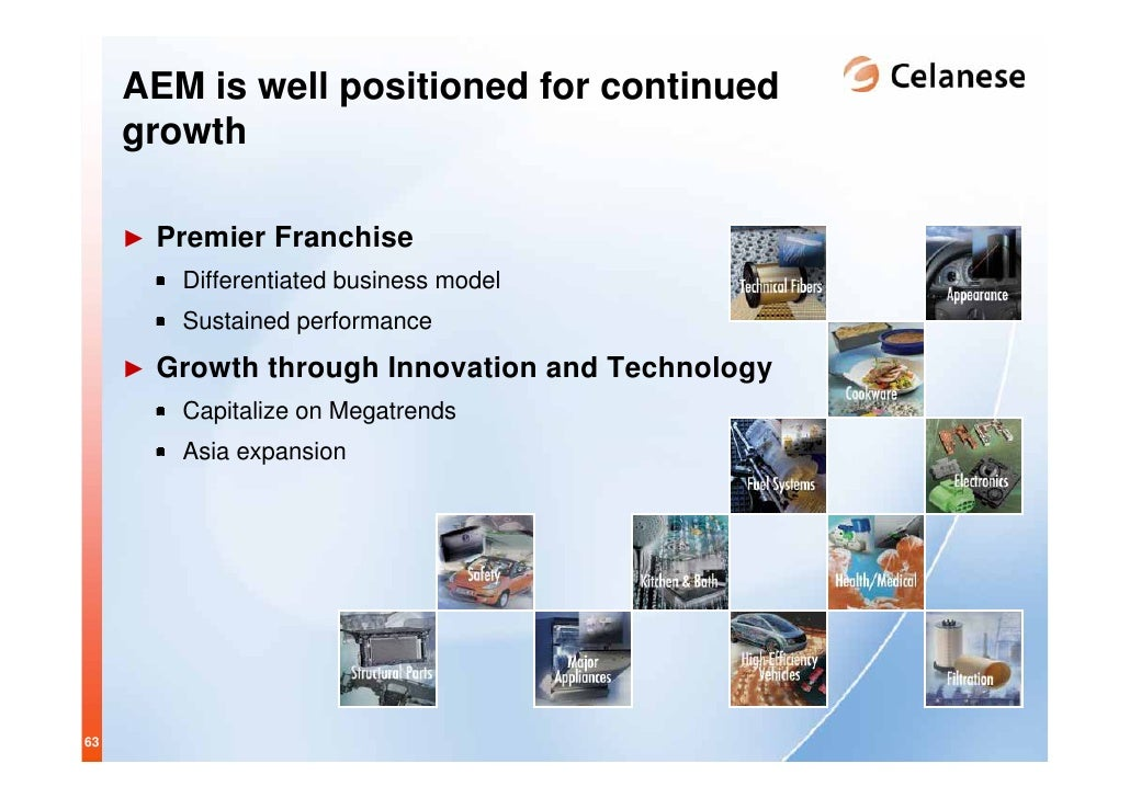 Celanese 2007 Investor Day Complete