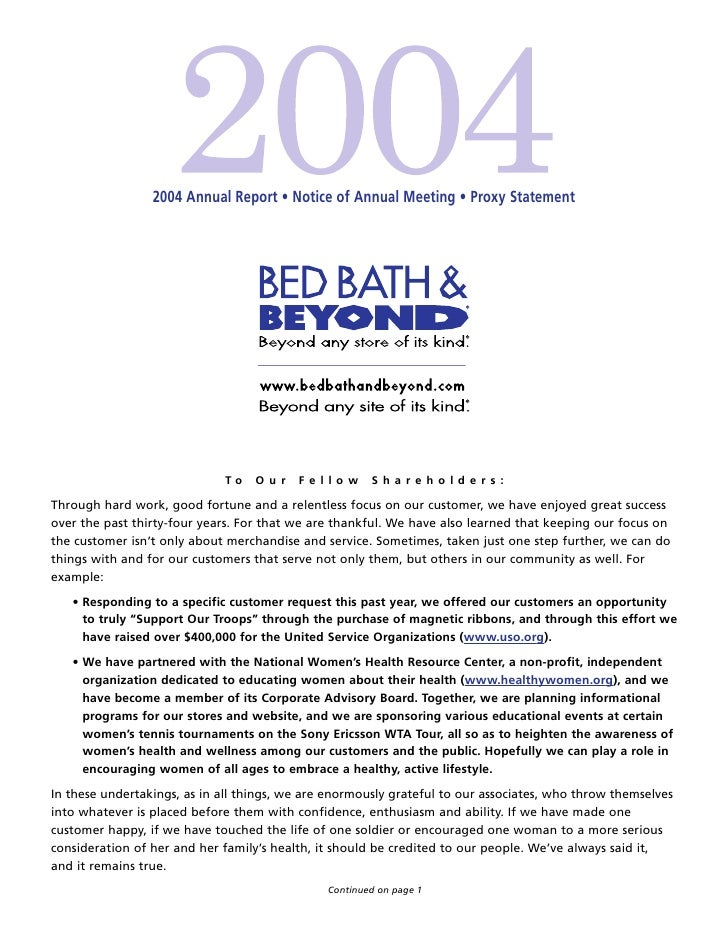 2004 Annual Report • Notice of Annual Meeting • Proxy Statement                                  To    Our    Fellow      ...