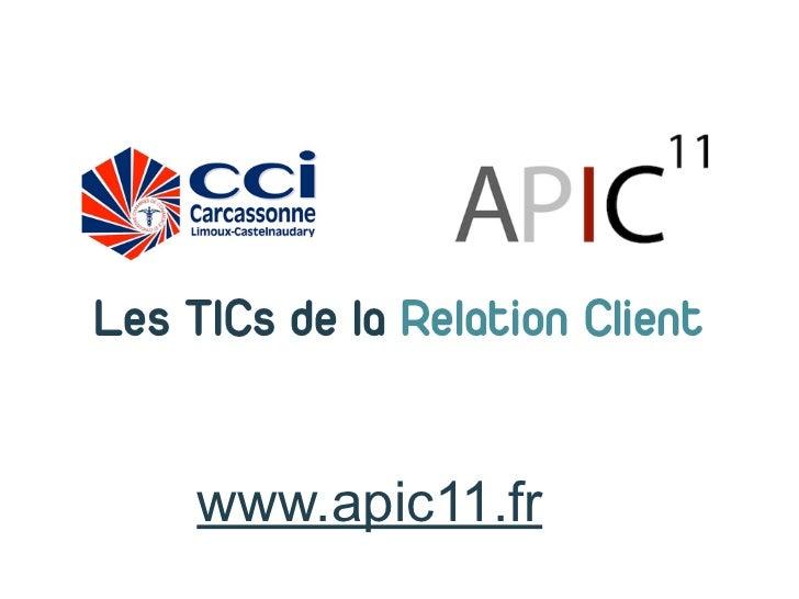 Les TICs de la Relation Client     www.apic11.fr