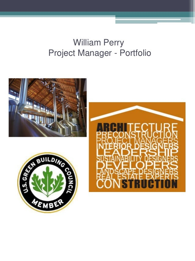 William PerryProject Manager - Portfolio