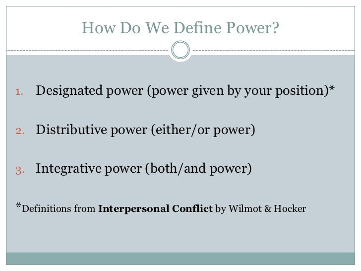 position power definition
