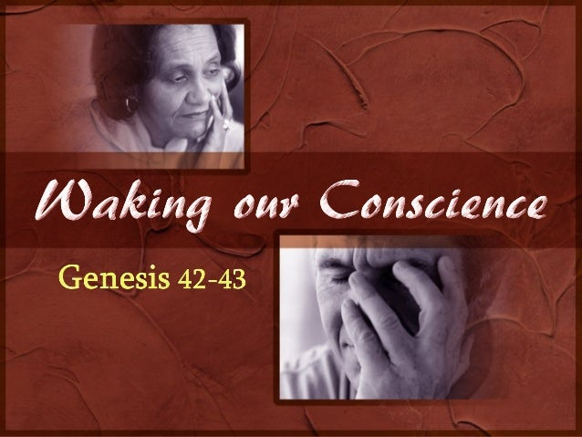 God uses 4 elements to  wake our conscience