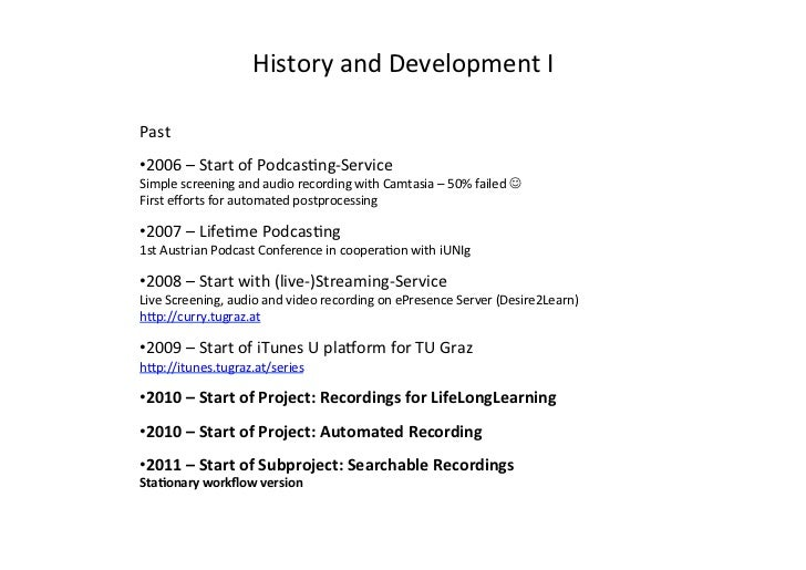 Automated Podcasting System for Universities Slide 2