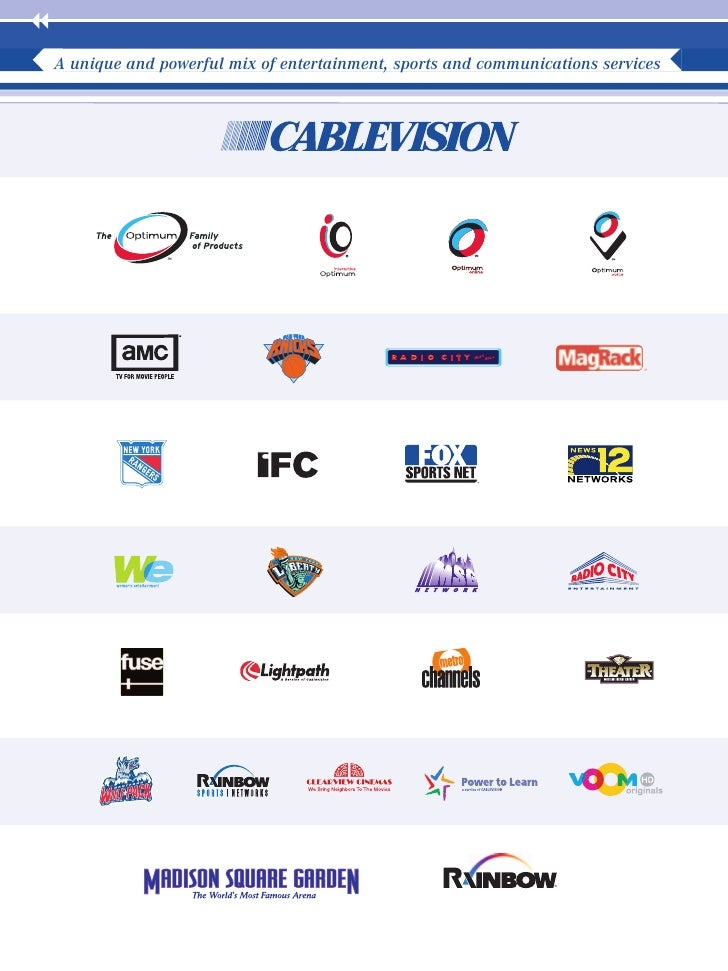 cablevision systems 2004ar