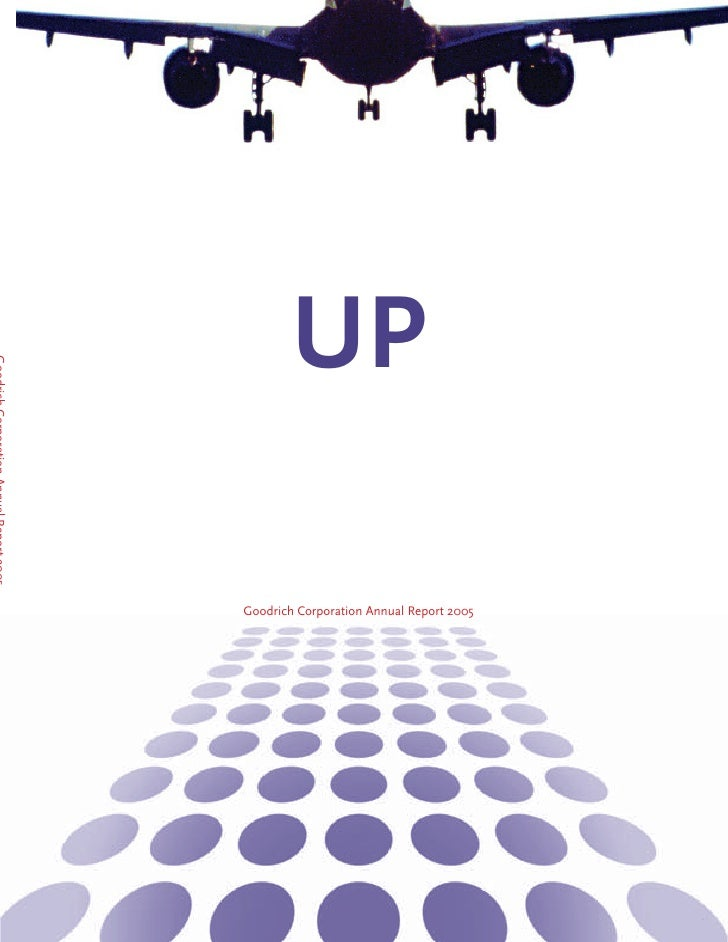 UP  Goodrich Corporation Annual Report 2005