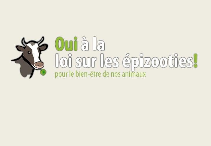 Contexte Disposer danimaux de rente en bonne santé est une nécessité économique pour lagriculture (la production animale r...