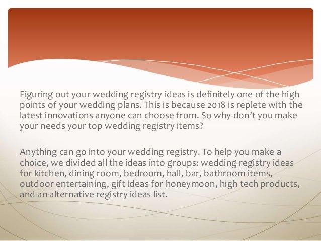 120 Best Wedding Registry Ideas Everyone Can Enjoy