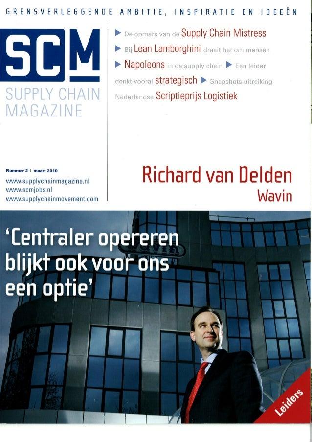 RvD in Artikel SCM Magazine 2010