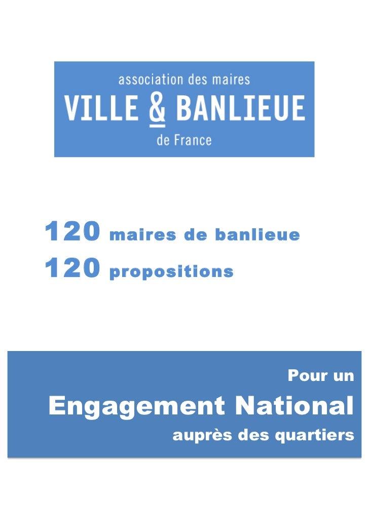 120       maires de banlieue120       propos...
