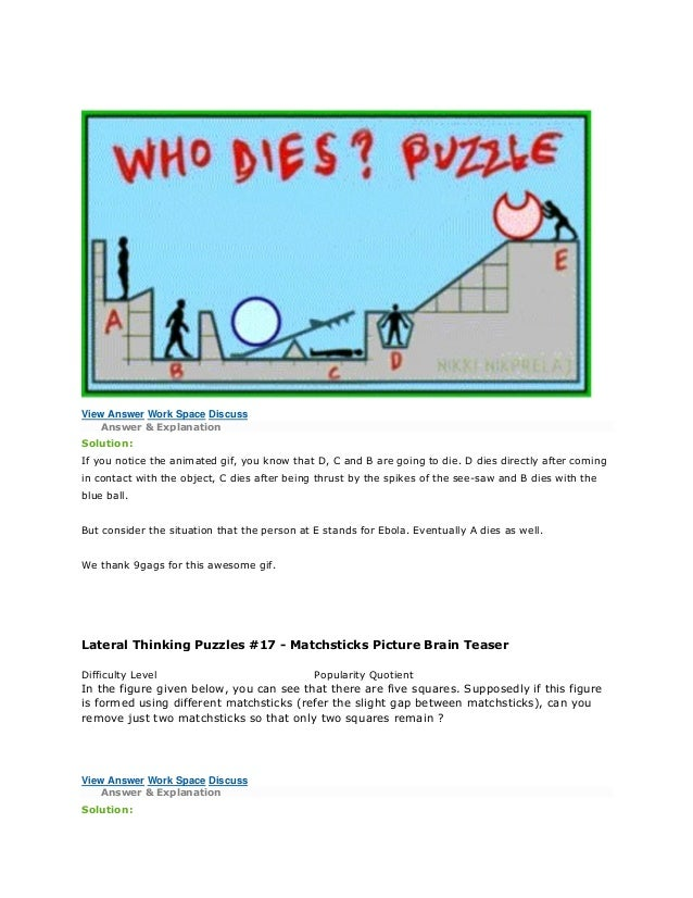 PUZZLES for Interviews