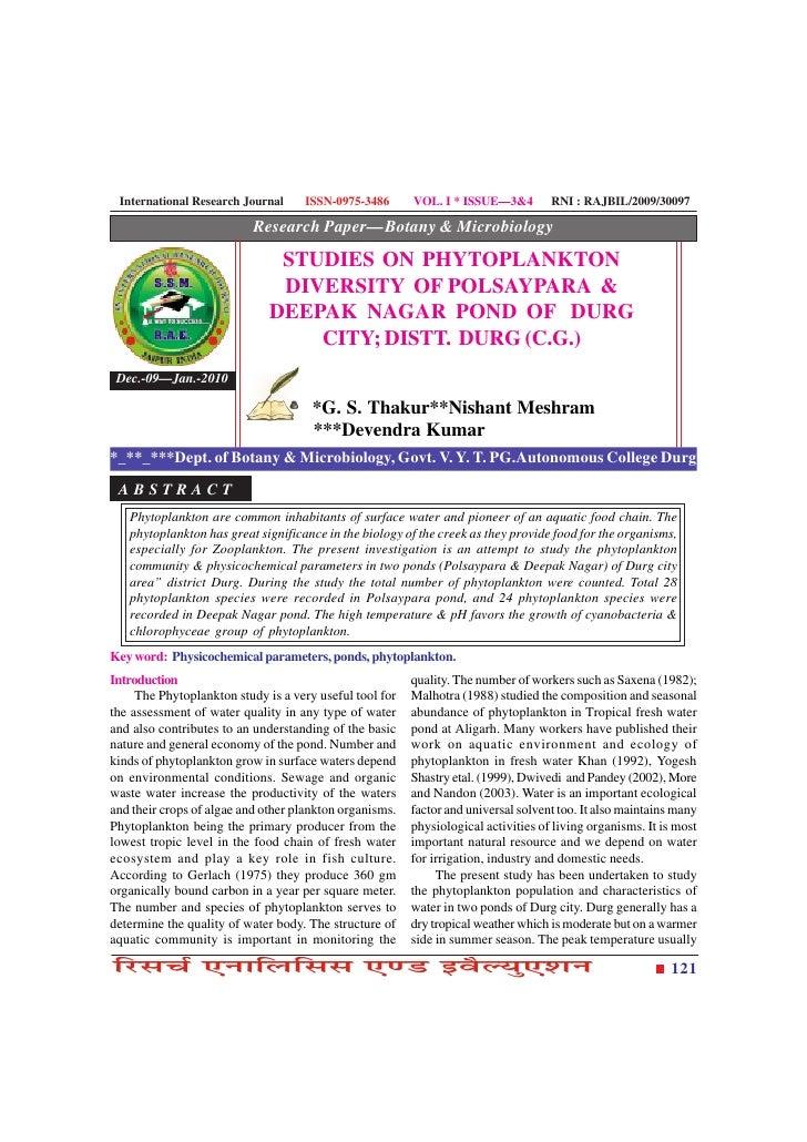 International Research Journal     ISSN-0975-3486       VOL. I * ISSUE—3&4         RNI : RAJBIL/2009/30097                ...