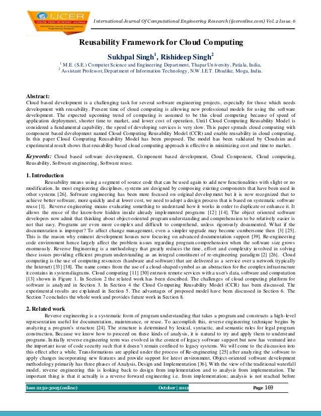 I nternational Journal Of Computational Engineering Research (ijceronline.com) Vol. 2 Issue. 6                           R...
