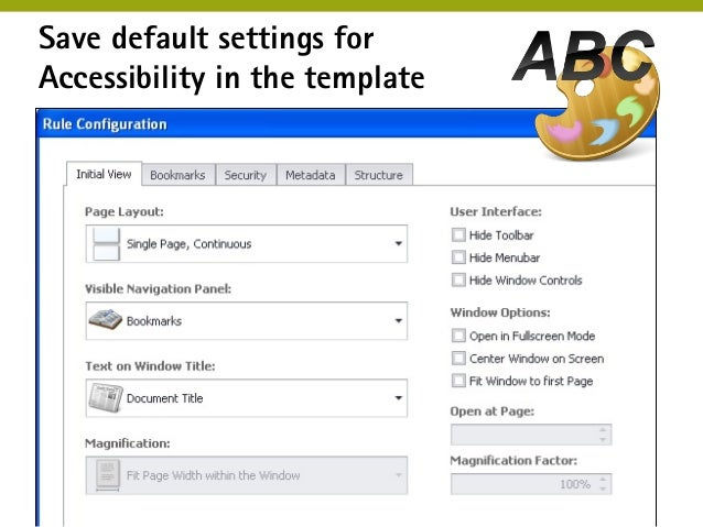 create accessible pdf from word