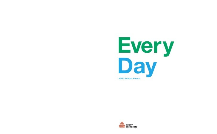 Every Day 2007 Annual Report