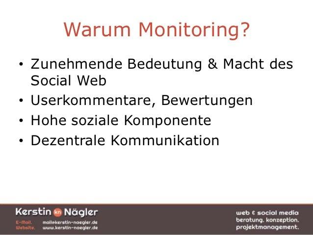 Social Media Monitoring - Einsatzgebiete und Notwendigkeiten Slide 2