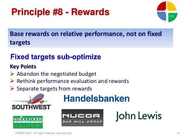 Principle #8 - Rewards                               Goals &                                                     rewardsBa...
