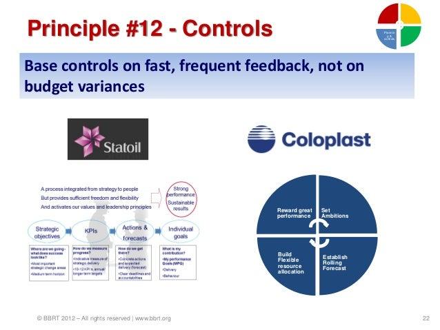 Principle #12 - Controls                                                       Plannin                                    ...