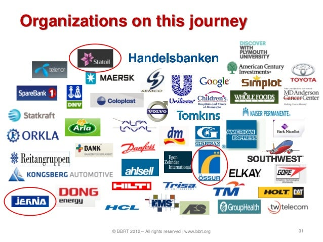 Organizations on this journey                                                              Europe's most                  ...