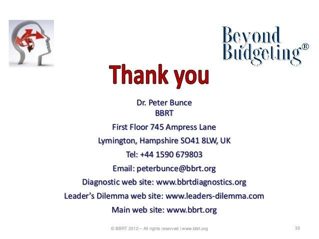 Dr. Peter Bunce                            BBRT            First Floor 745 Ampress Lane        Lymington, Hampshire SO41 8...