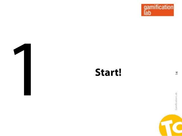 1                 Start!Gamification Lab     14