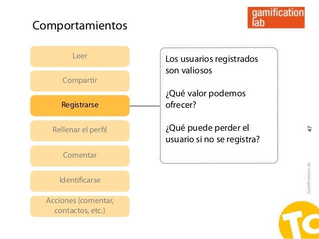 Comportamientos         Leer           Los usuarios registrados                        son valiosos      Compartir        ...