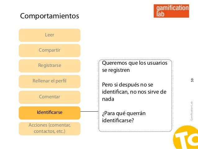 Comportamientos         Leer      Compartir      Registrarse       Queremos que los usuarios                        se reg...