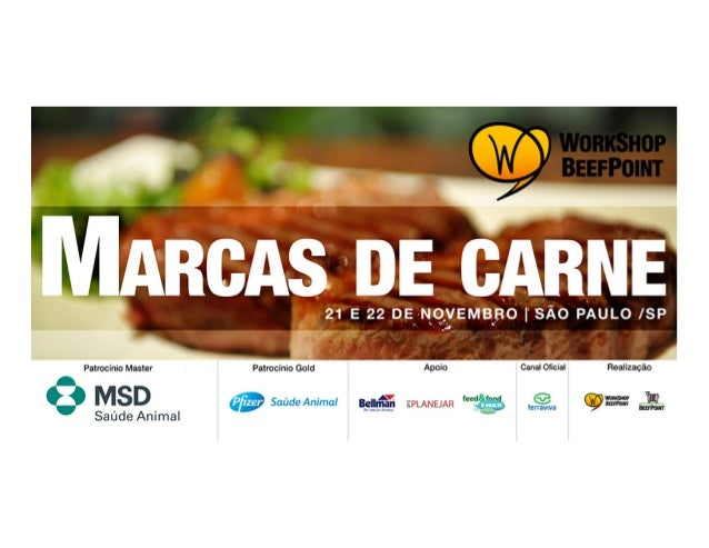 Evolução do marketing e marcasde carne no Brasil e no mundo –   tendências e perspectivas                 Miguel Cavalcan...