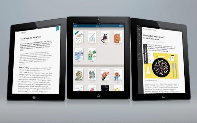 Tidsskriftet på iPad Slide 2