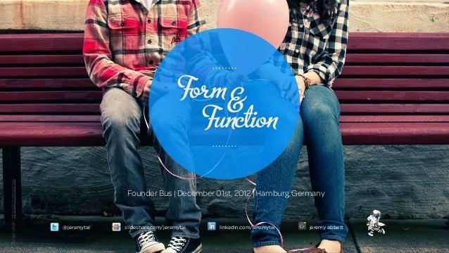 Form &                                                                 Functionflickr user: brandoncwarren                 ...