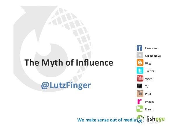 Facebook                                                                    N  Online News The Myth of Influe...