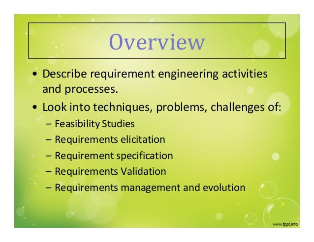 issues and challenges of requirement engineering Analyzing requirements engineering problems romi satria  wahono department of information and computer sciences, saitama university.
