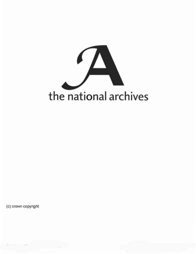 the national archives  (c) crown copyright