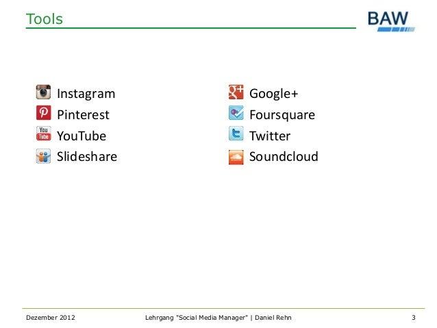 Tools        Instagram                                   Google+        Pinterest                                   Foursq...