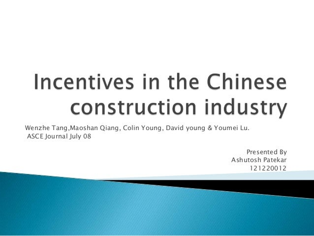 Wenzhe Tang,Maoshan Qiang, Colin Young, David young & Youmei Lu.ASCE Journal July 08Presented ByAshutosh Patekar121220012