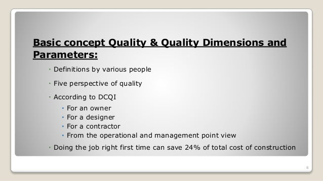 literature review on quality management in construction This paper presents the results of a literature review carried out on cm in construction both in organisational and project level and aims at determining the research gaps which have not been covered in the literature so far.