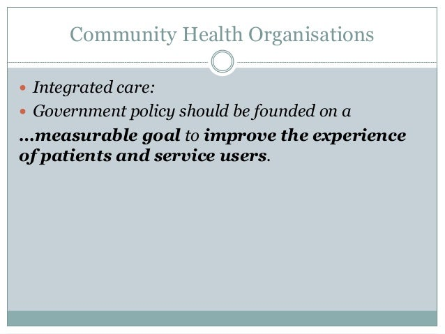Discuss How Community Nursing Can Enhance the Care Given to Service Users and Their Carers