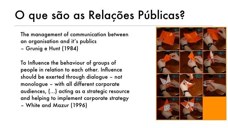 Relações Públicas Online Slide 2