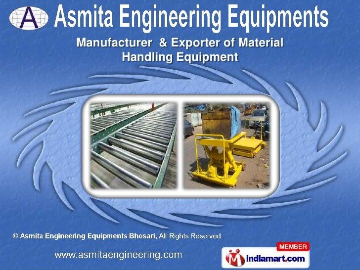 Manufacturer & Exporter of Material Handling Equipment