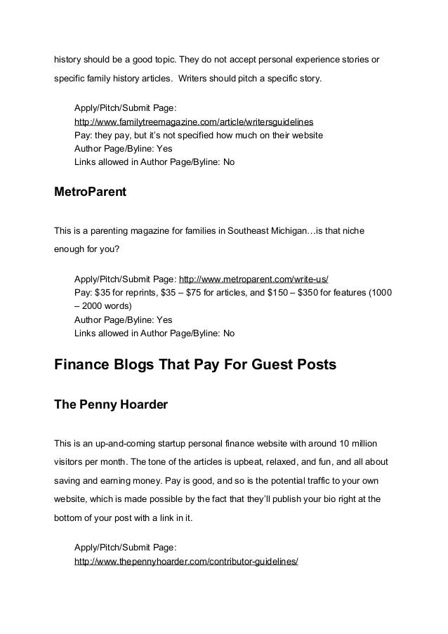 Money Submit Guest Post
