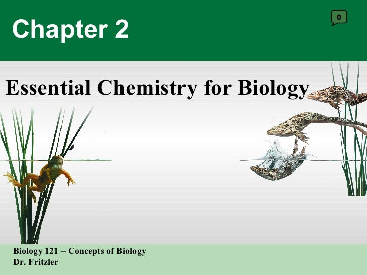 Chapter 2 Essential Chemistry for Biology 0