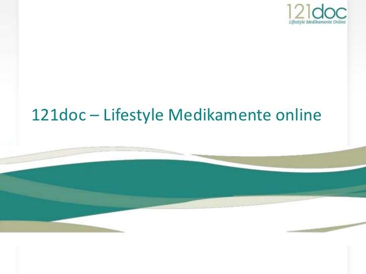 121doc – Lifestyle Medikamente online<br />