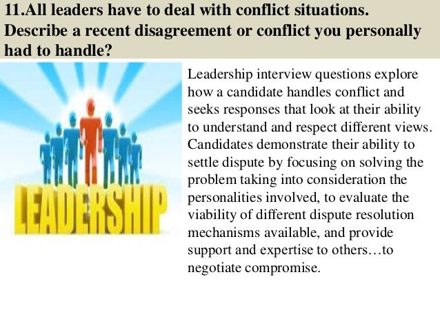 Top 50 Leadership Interview Questions & Answers